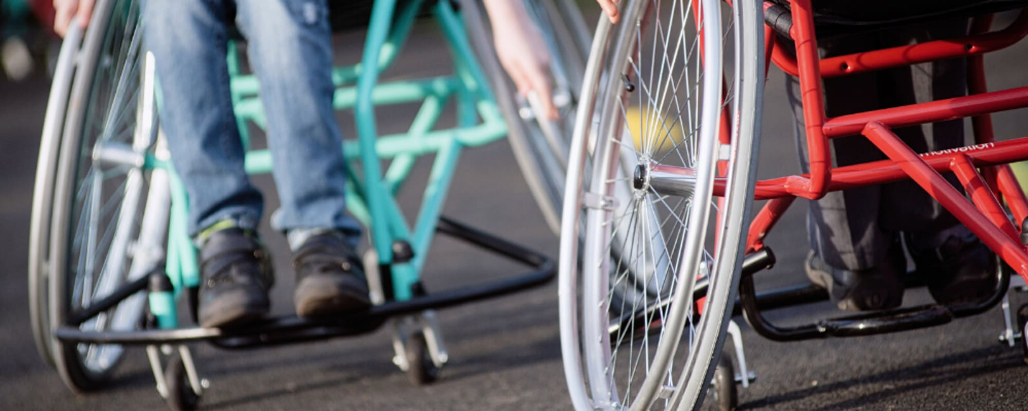 UK wheelchair sports funding available